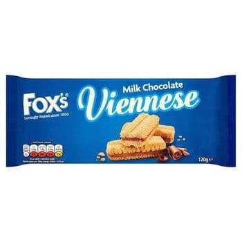 Foxs Chocolate Chocolate Viennese 120G