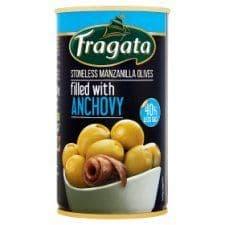 Fragata Low Salt Anchovy Stuffed Olives 350G