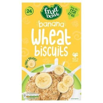 Fruit Bowl Banana Wheat Biscuit 24 450G