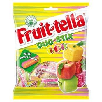 Fruittella Duo Stix 160G