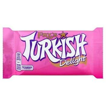 Fry's Turkish Delight Chocolate Bar 51G