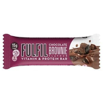 Fulfil Chocolate Brownie Vitamin & Protein Bar 40G