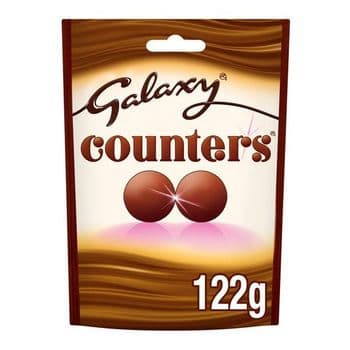 Galaxy Counters Chocolate Pouch 122G