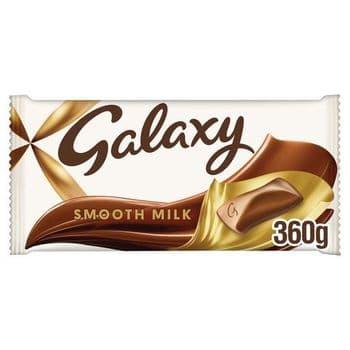 Galaxy Milk Chocolate 360G