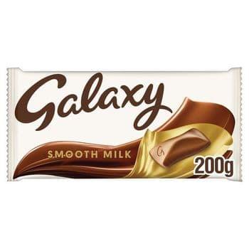 Galaxy Milk Chocolate Bar 200G