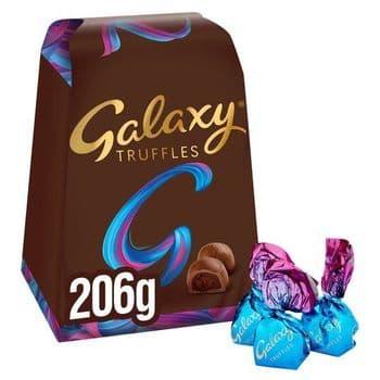 Galaxy Milk Chocolate Truffles 206G