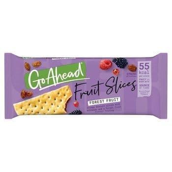 Go Ahead Crispy Forest Fruit Slices 5 Pack