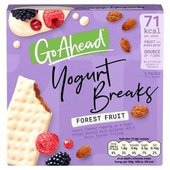 Go Ahead Yogurt Breaks Forest Fruit 5X35.5G