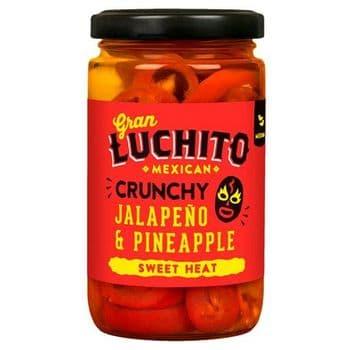 Gran Luchito Crunchy Jalapeno & Pineapple 215G
