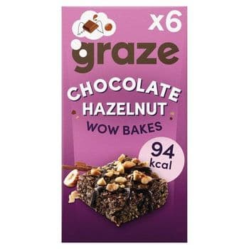 Graze Chocolate Wow Bakes 6 X 20G