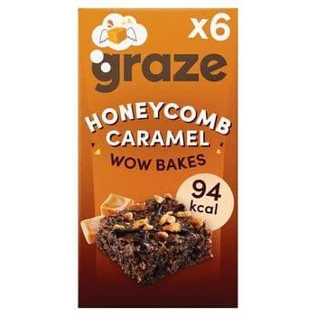 Graze Honeycomb Wow Bakes 6 X 20G