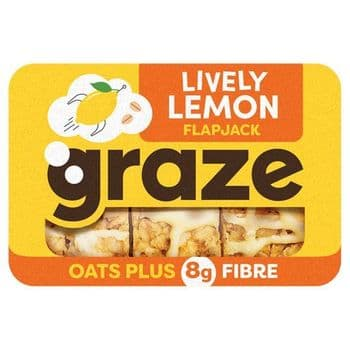 Graze Lemon Drizzle Flapjack 53G