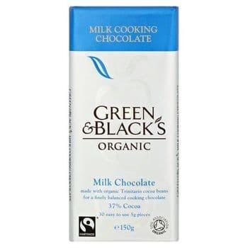 Green & Black Milk Cooks Bar 150G