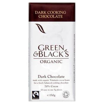 Green & Black Organic Cooking Chocolate 150G