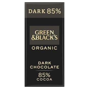 Green & Blacks Organic Dark 85% Chocolate 90G