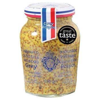 Grey Poupon Wholegrain Mustard 210G