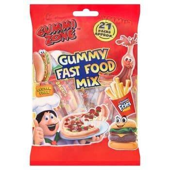 Gummi Zone Fast Food Mix Multibag 202G