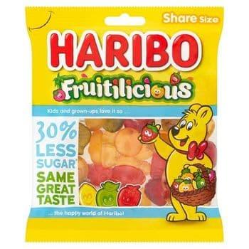 Haribo Fruitilicious Fruit Gums 150G
