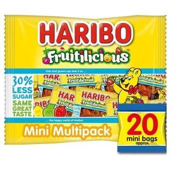 Haribo Fruitilicious Multipacks 320G