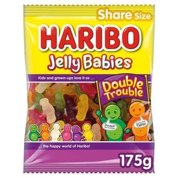 Haribo Jelly Babies Double Trouble 175G