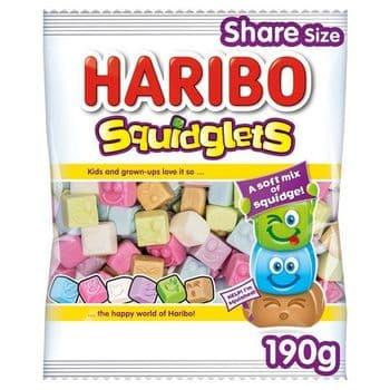 Haribo Squidglets 190G
