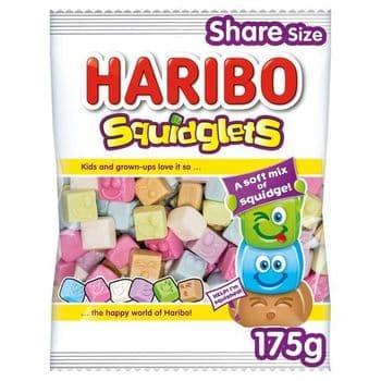 Haribo Squidglets Fruit & Cola Gums 175G