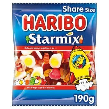 Haribo Starmix 190G Bag