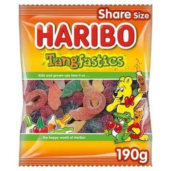 Haribo Tangfastic 190G Bag
