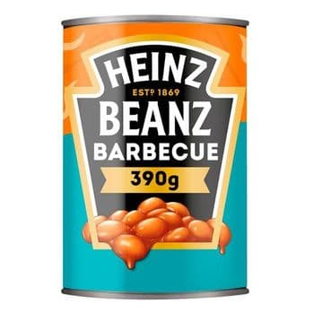 Heinz Baked Beans Barbecue 390G