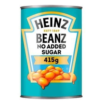 Heinz Baked Beans No Added Sugar 415G