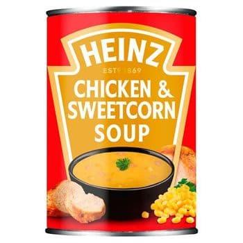 Heinz Classic Chicken & Sweetcorn Soups 400G
