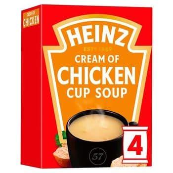 Heinz Cream Of Chicken Cup Soup 68G