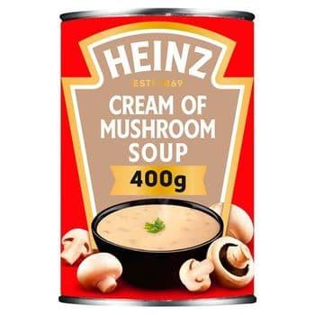 Heinz Cream Of Mushroom Soup 400G