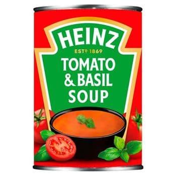 Heinz Cream Of Tomato & Basil Soup 400G
