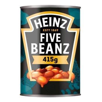 Heinz Five Beanz In Tomato Sauce 415G