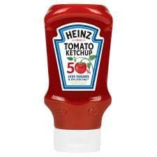 Heinz Ketchup 50% Less Sugar 435G