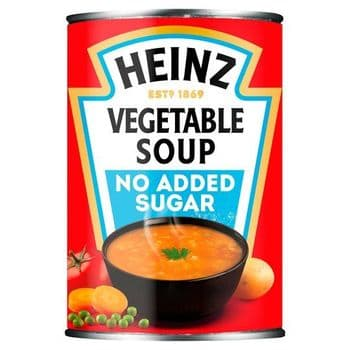 Heinz No Added Sugar Vegetable Soup 400G