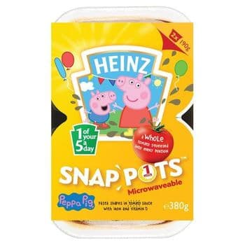 Heinz Peppa Pig Snap Pots 2 X 190G
