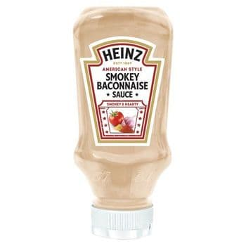 Heinz Smokey Baconnaise Sauce 220Ml