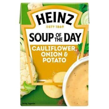 Heinz Soup Of The Day Cauliflower Onion & Potato 400G