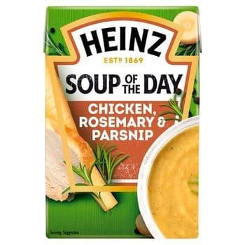 Heinz Soup Of The Day Chicken & Parsnip 400G