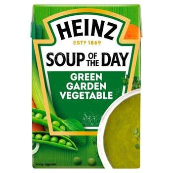 Heinz Soup Of The Day Green Garden Vegetable Soup 400G