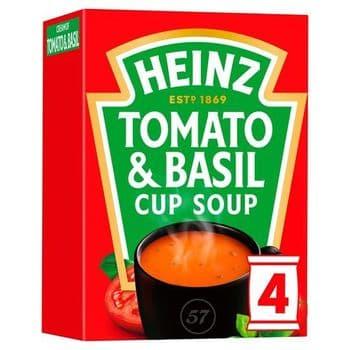 Heinz Tomato & Basil Cup Soup 88G