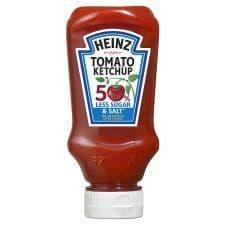 Heinz Tomato Ketchup 50% Less Sugar And Salt 235G