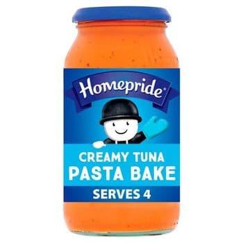 Homepride Pasta Bake Creamy Tuna 485G
