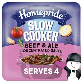 Homepride Slow Cooker Beef & Ale Concentrated Sauce 170G