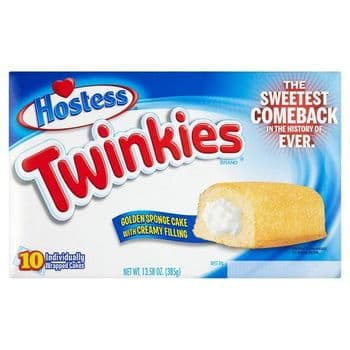 Hostess Twinkies Golden Sponge Cakes 10S 385G