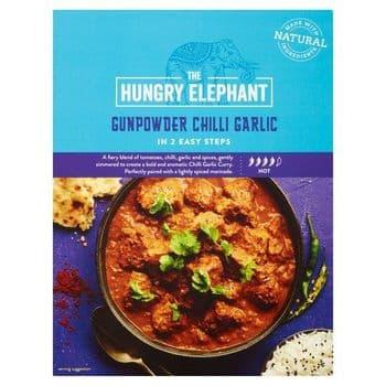 Hungry Elephant Gun Powder Chilli Garlic 320G