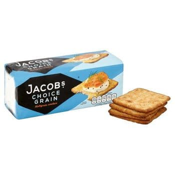 Jacobs Choice Grain Crackers 200G
