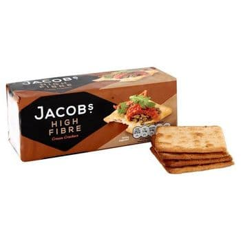Jacobs High Fibre Cream Crackers 200G